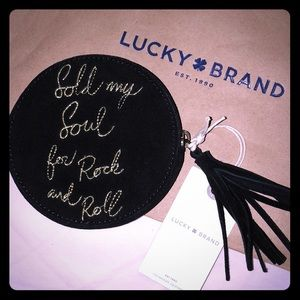 {Lucky Brand} coin purse